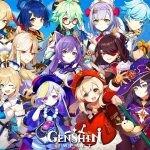 personajes Genshin Impact