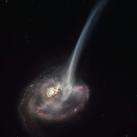 Ilustración de la galaxia ID2299
