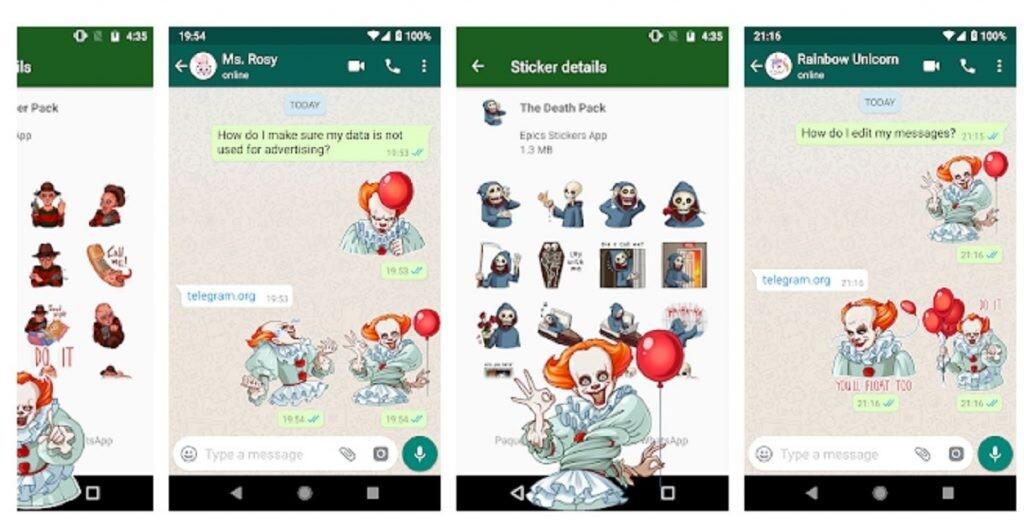 Stickers para WhatsApp y Telegram