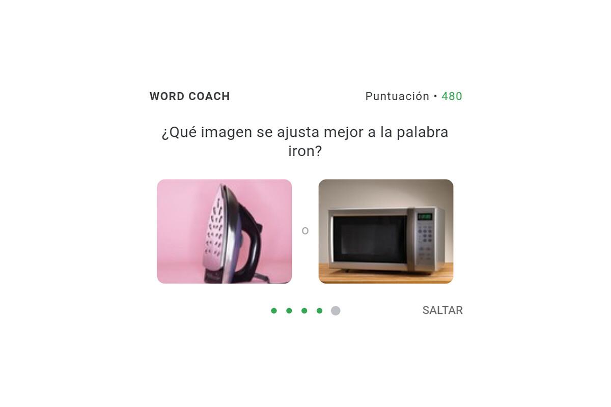 Te contamos cómo jugar a Google Word Coach.