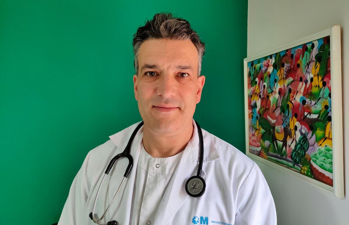 Pablo Barreiro, médico del Hospital Isabel Zendal, de Madrid.