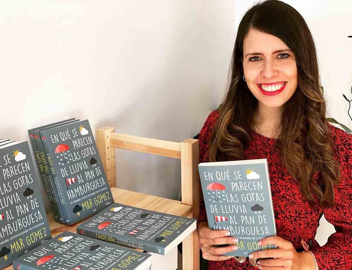 Mar Gómez acaba de publicar su libro 'En qué se parecen las gotas de lluvia al pan de hamburguesa'.