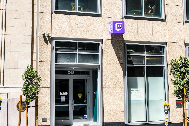 Sede central de Twitch en San Francisco.