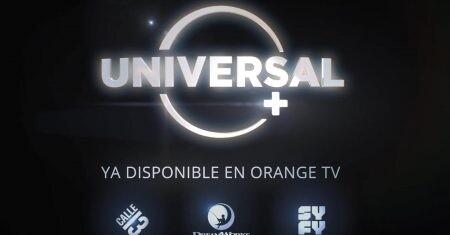 Universal+ Orange Tv