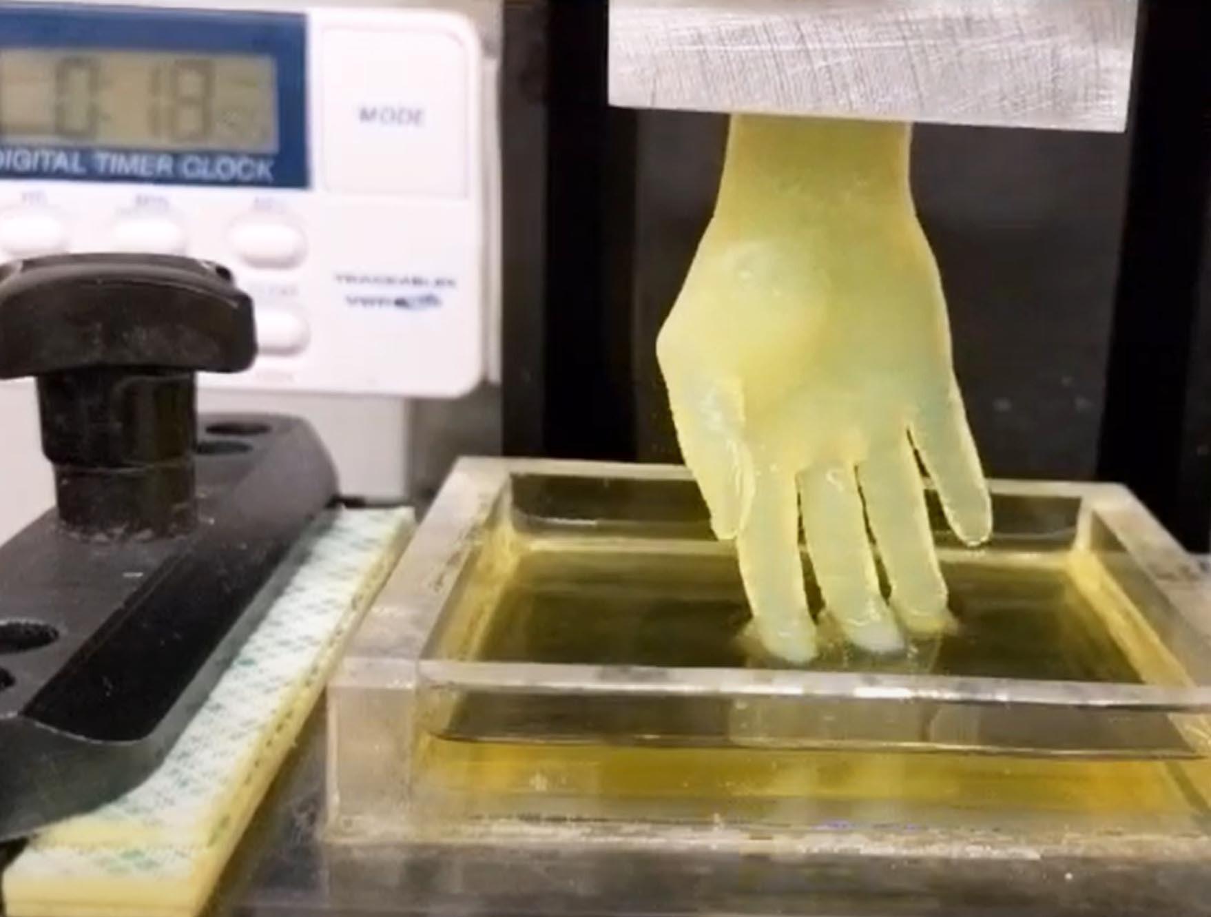 impresoras en 3D mano