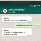 orange whatsapp
