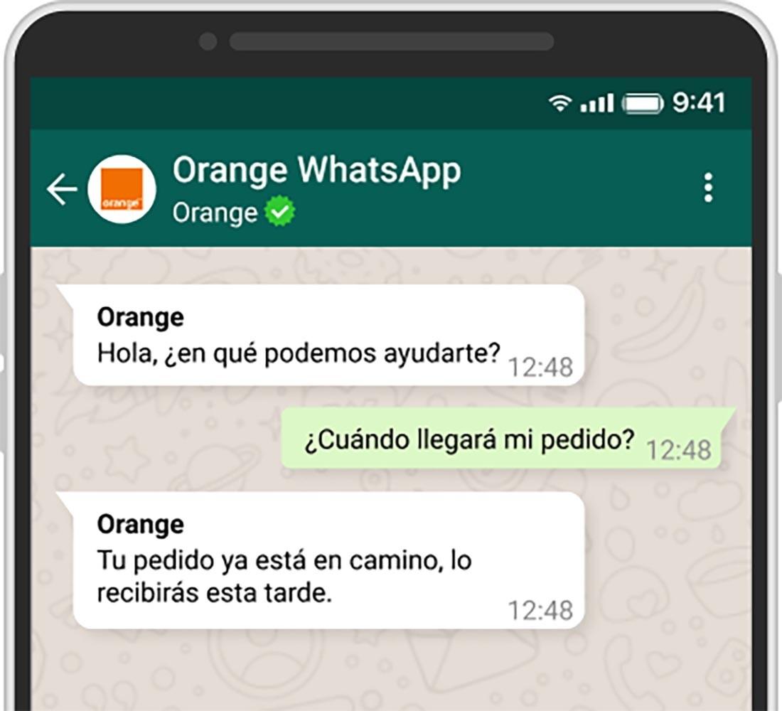 orange whatsapp