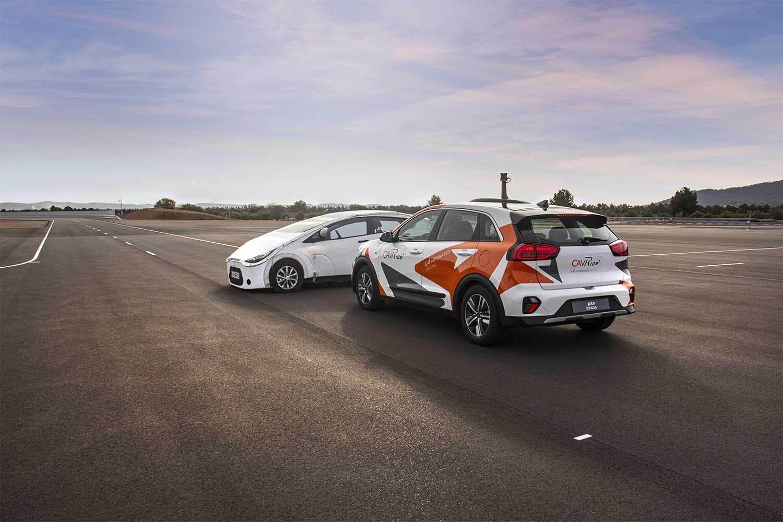 coches autónomos y 5G de Orange