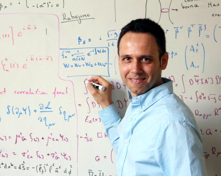Iván Agulló, físico teórico
