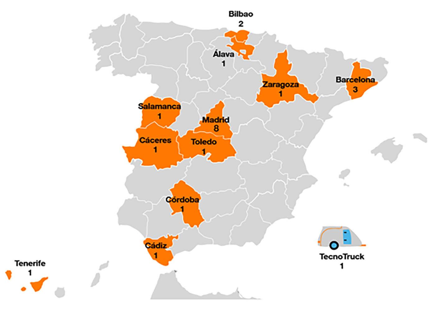 Mapa de GarageLabs