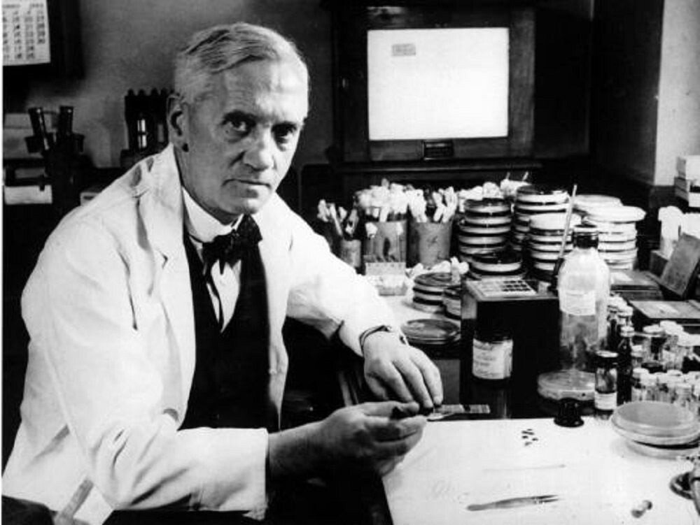 Alexander Fleming- penicilina