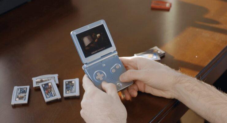 TeneT en una GameBoy