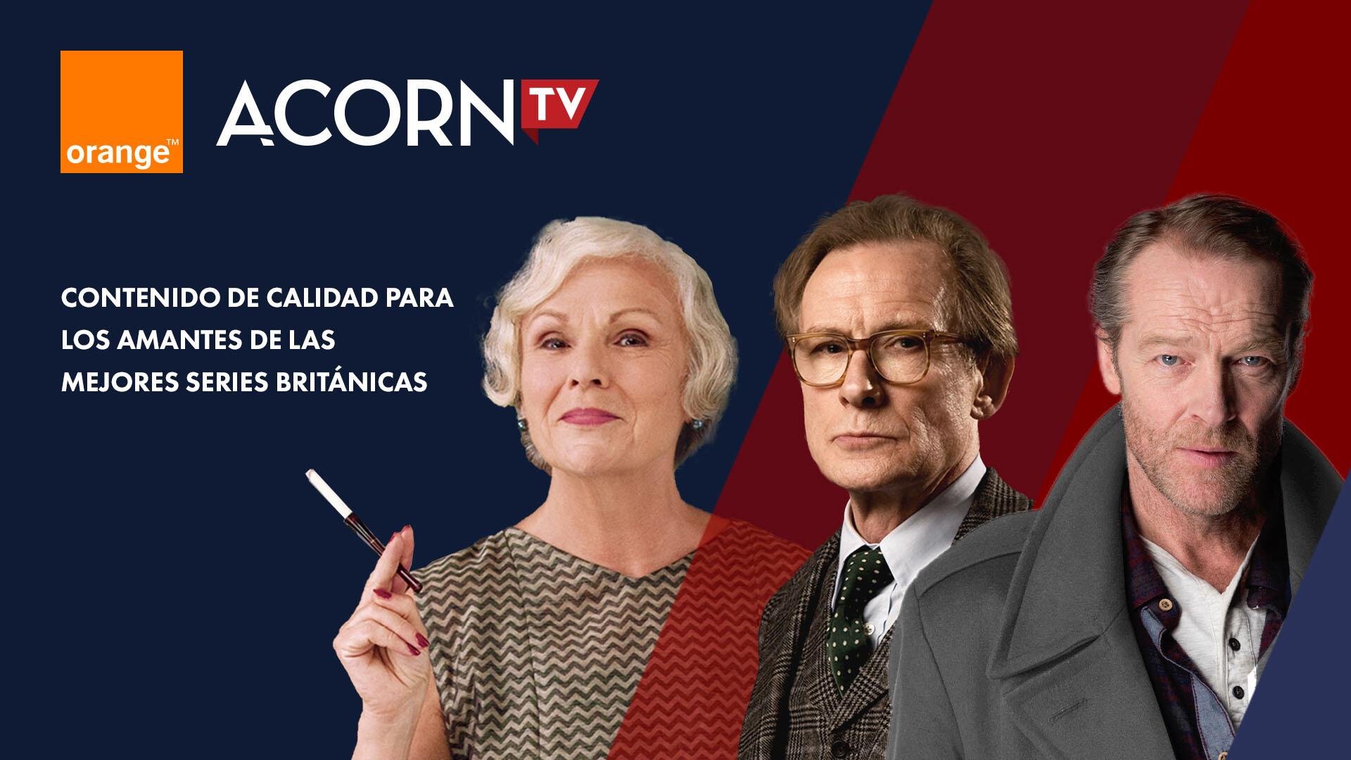 Acorn tv en Orange