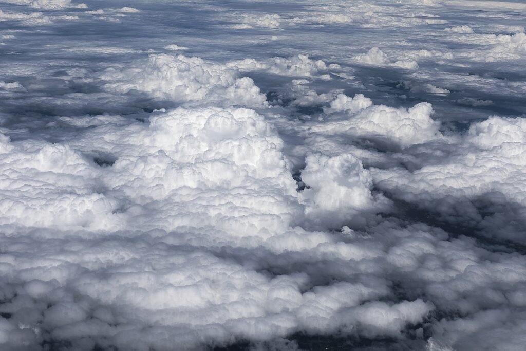 Altocúmulos- tipo de nube