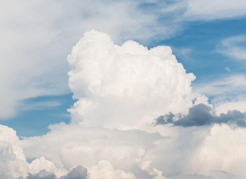 Cúmulus- tipo de nube
