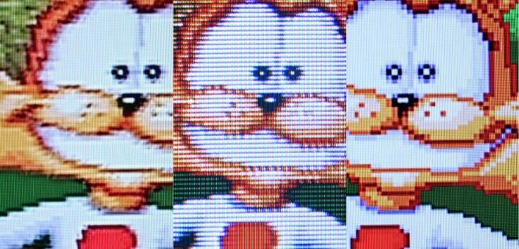 Retro gaming en TV de tubo