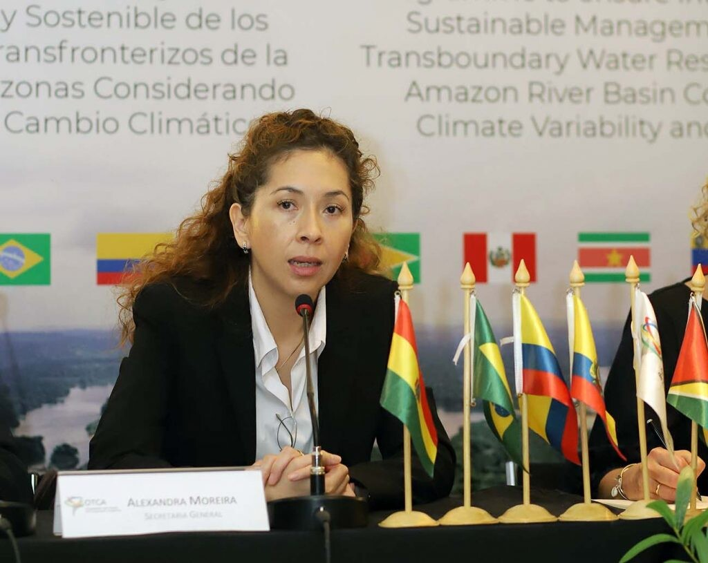 Alexandra Moreira, secretaria general de la OTCA