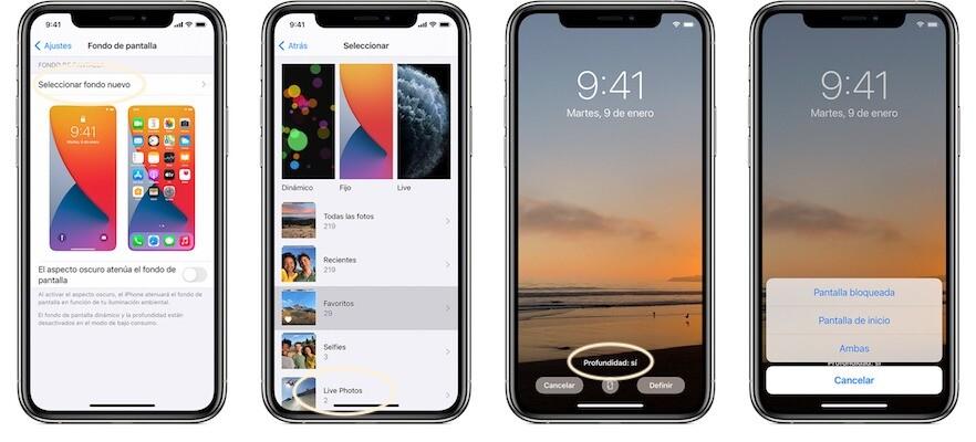 video de fondo de pantalla iOS