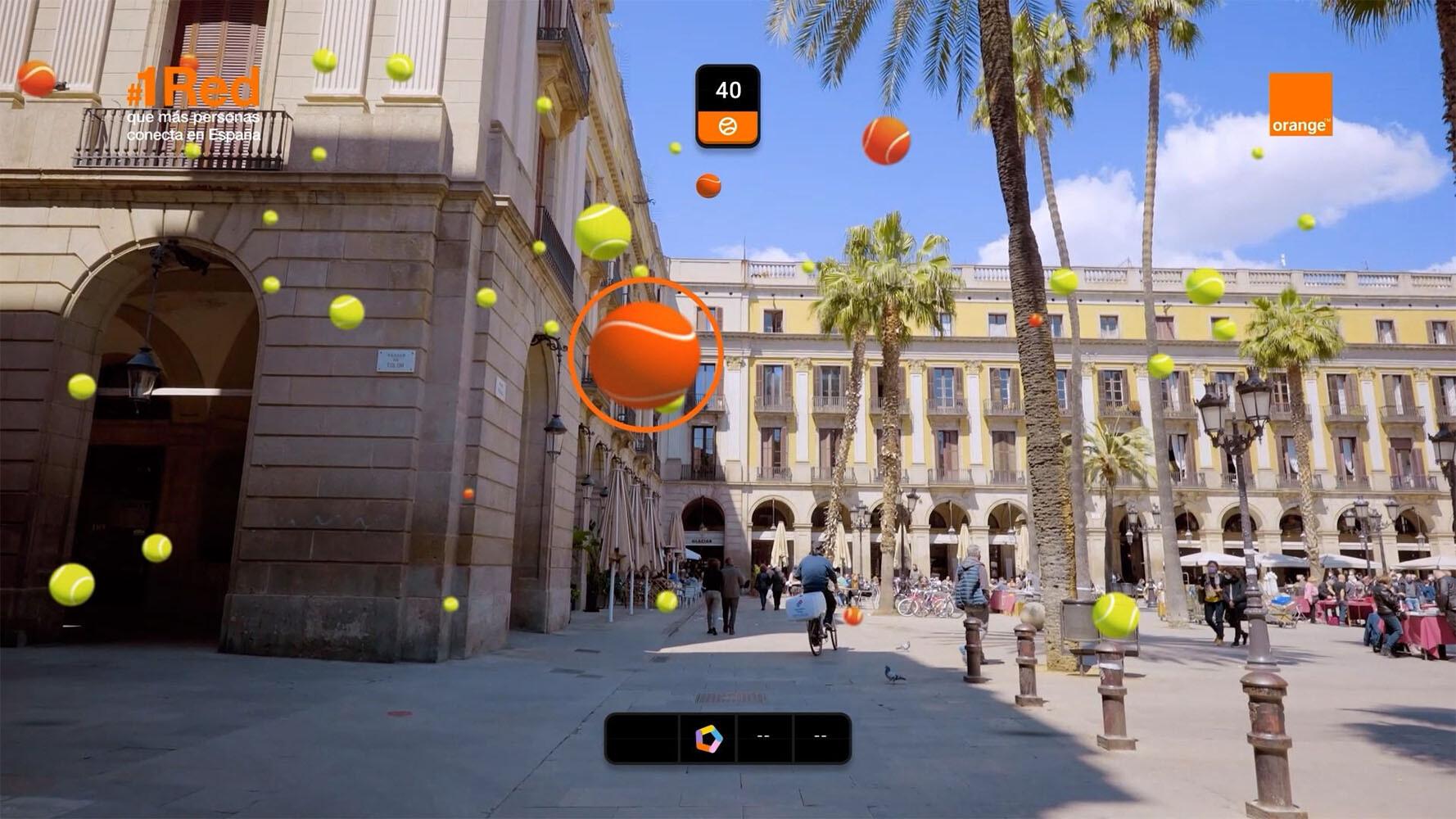 Orange 5G Tenis