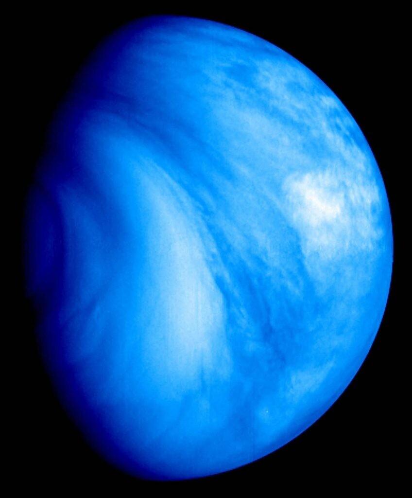 imagen de Venus de la ESA