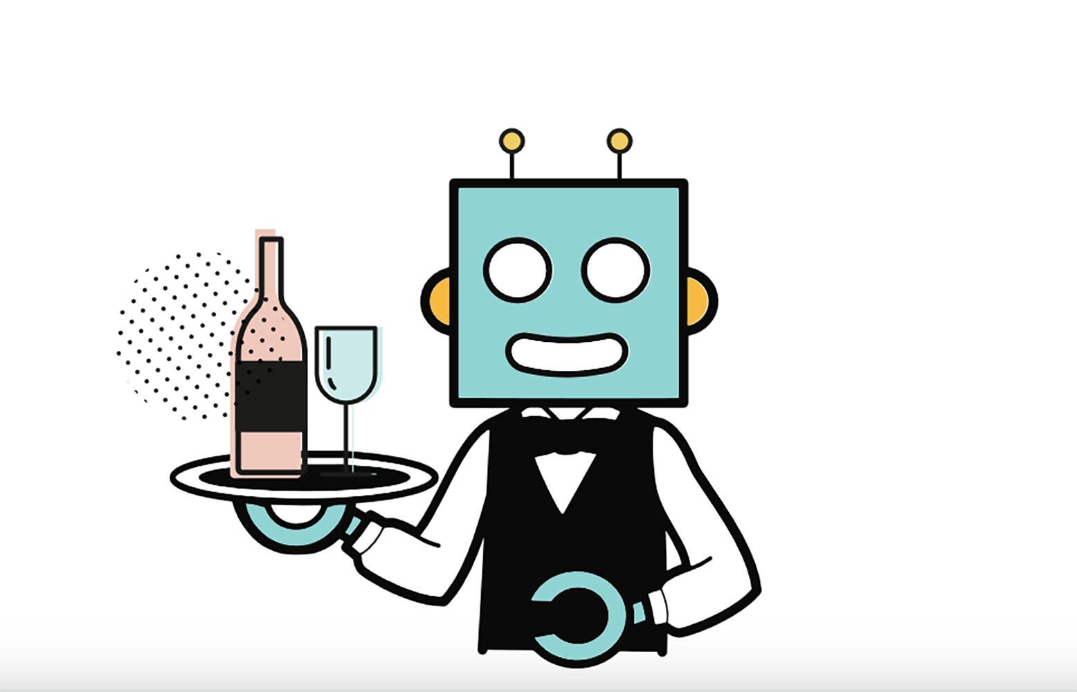 Elegir vino con un sommelier virtual
