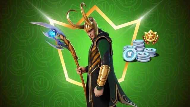 Skin de Loki en Fortnite
