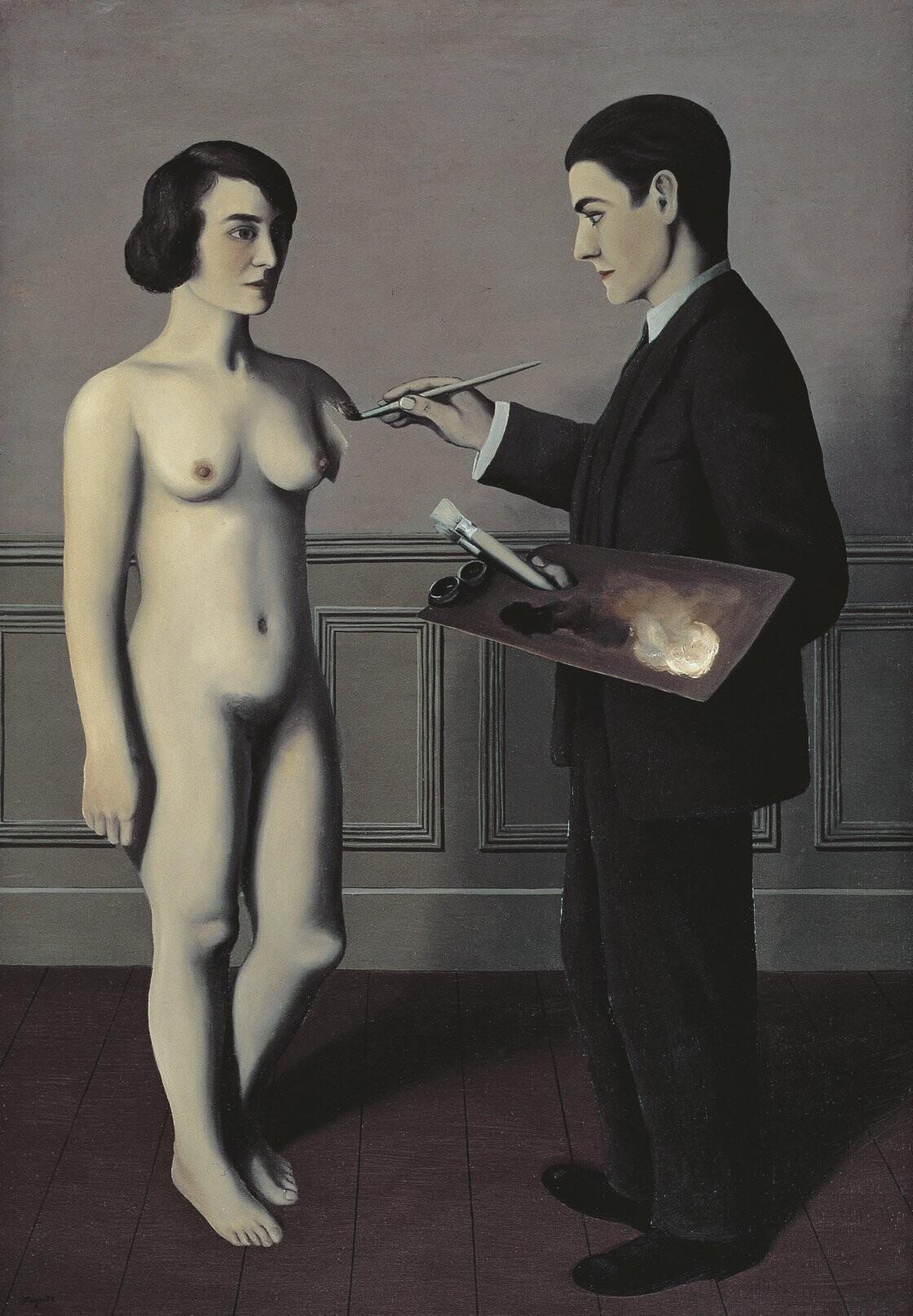 La tentativa de lo imposible. 1928. Magritte