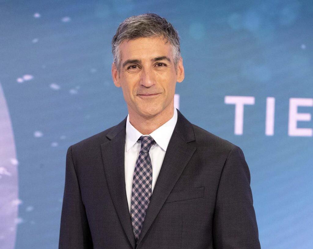 Albert Barniol, presentado del tiempo de TVE