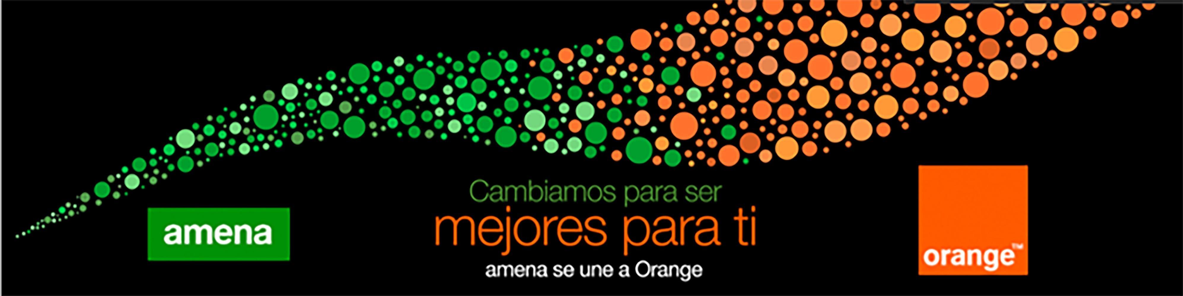 Amena y orange