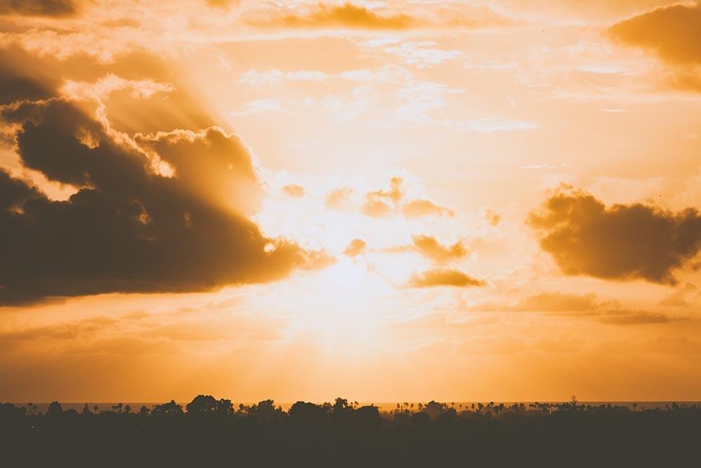 oscurecer el sol