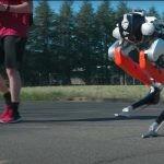 ¿robot corredor enl la final de 5.000 metros juegos olímpicos?