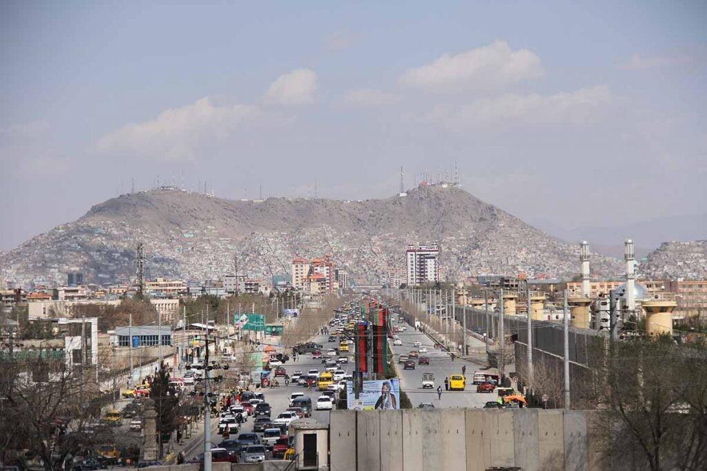Kabul, capital del país