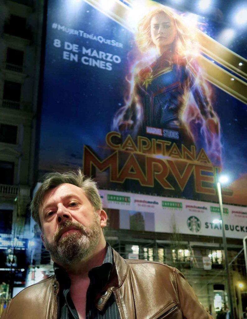 pacheco y la capitana Marvel