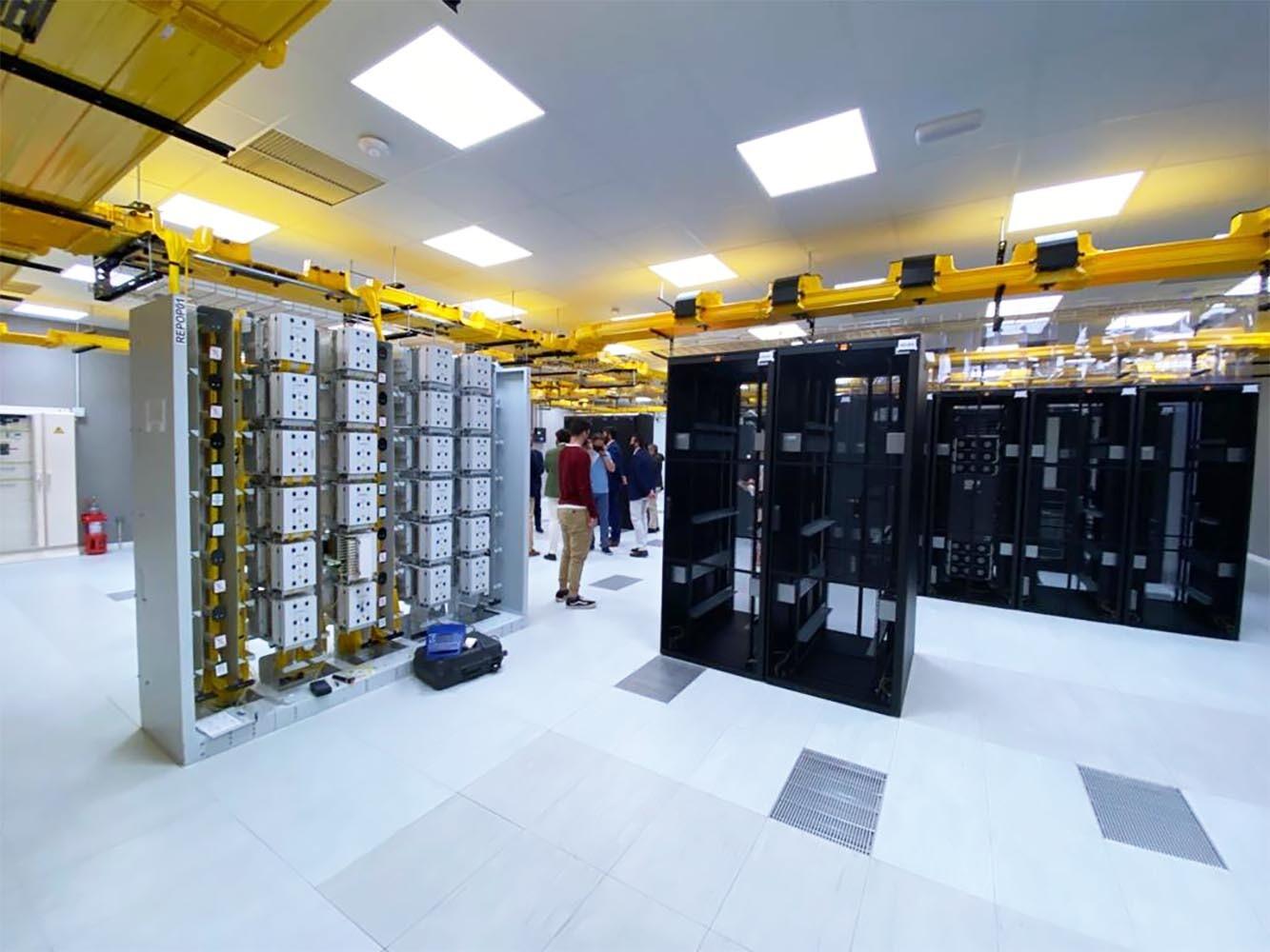 Centro de Procesamiento de Datos de Orange en Santander