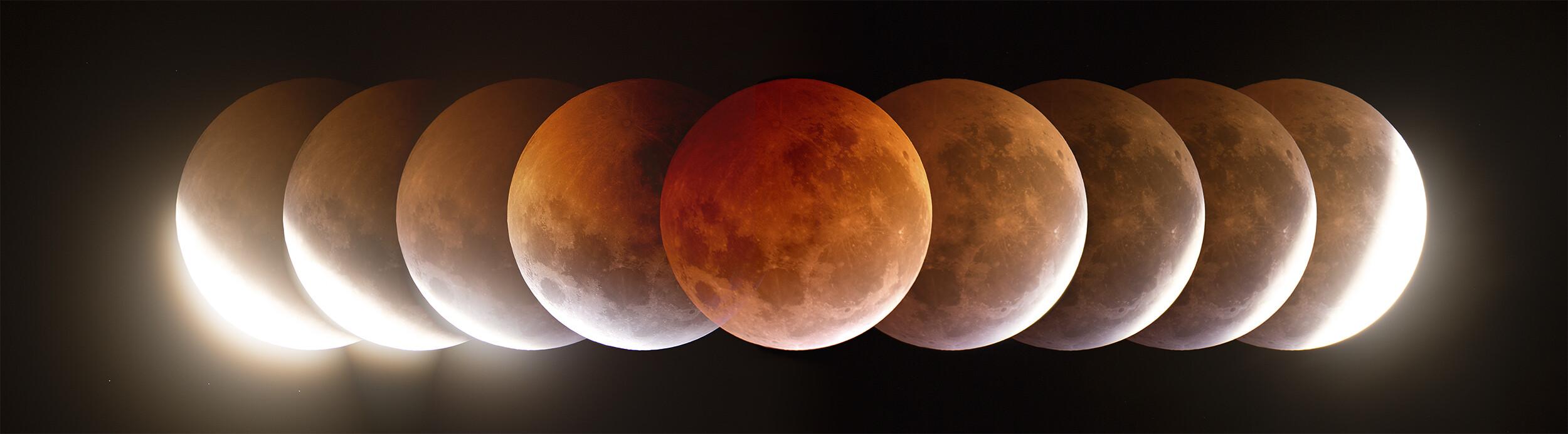 eclipse lunar no es una fase lunar