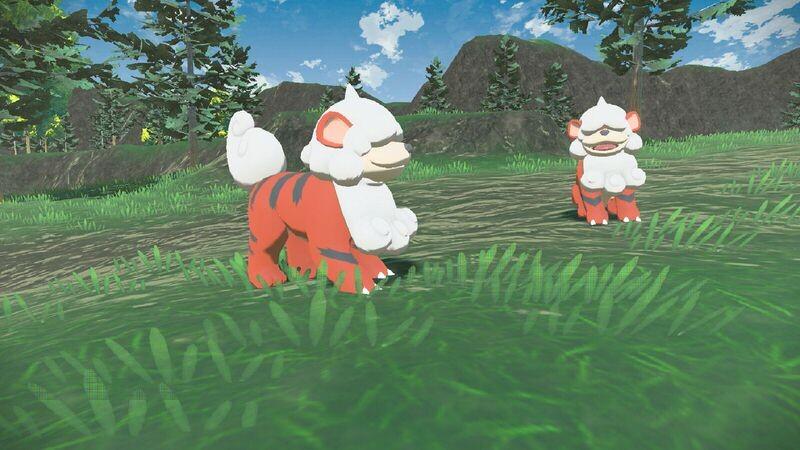 Growlithe forma Hisui