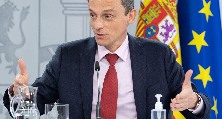 Pedro Duque tras el Consejo de Ministros