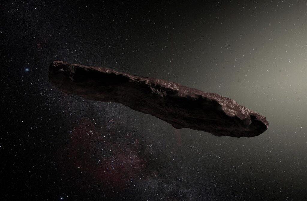 Oumuamua, el primer objeto interestelar detectado