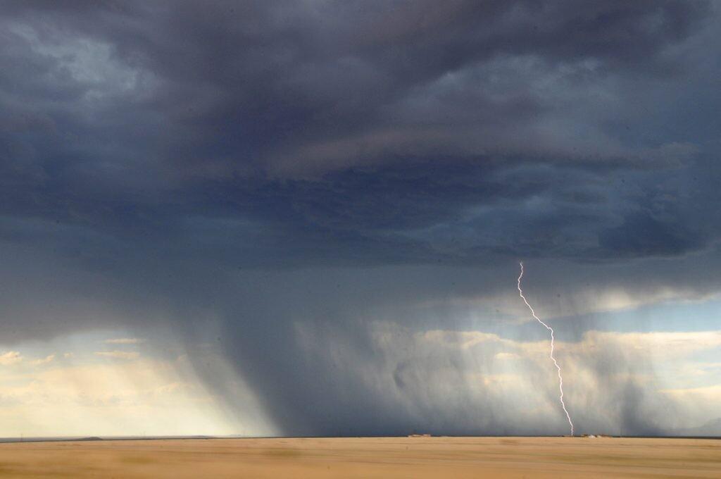 tormentas acentuadas por el cambio climático