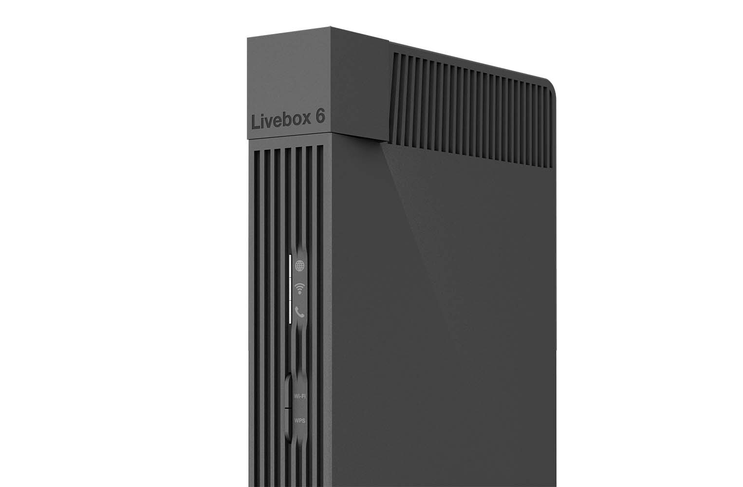 livebox WIFi 6 de Orange