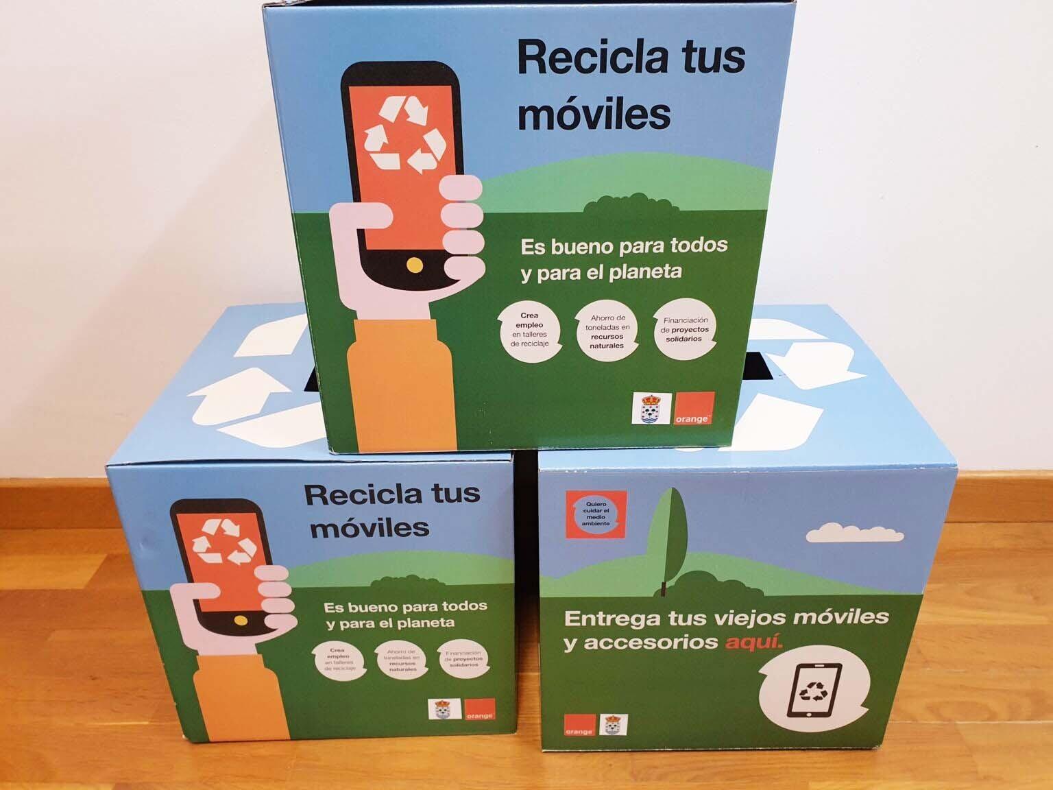 orange reciclaje