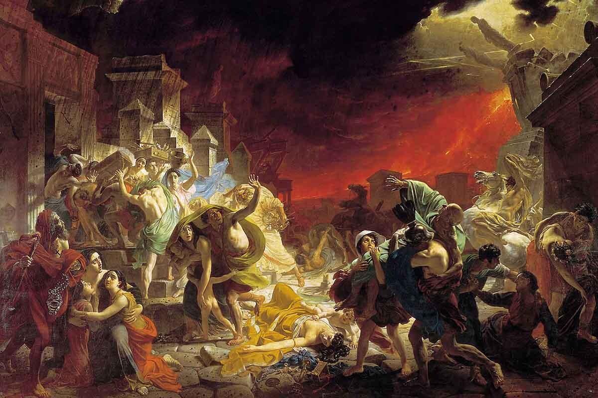 La ciudad de Pompeya es un buen ejemplo de cómo los volcanes cambian la historia.