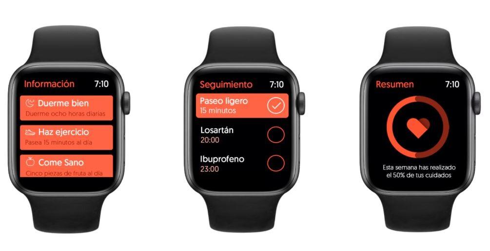 Con esta app (Koro) y un Apple Watch, podemos evitar la vuelta al hospital de los enfermos de corazón