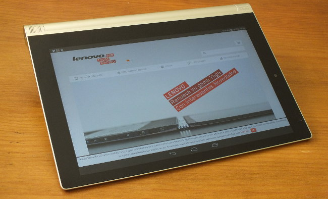 Pantalla Lenovo Tablet Yoga 2