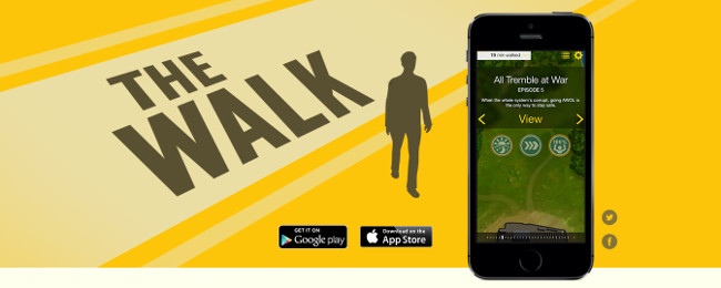the walk app