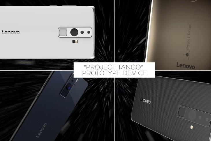 Lenovo Project Tango concept