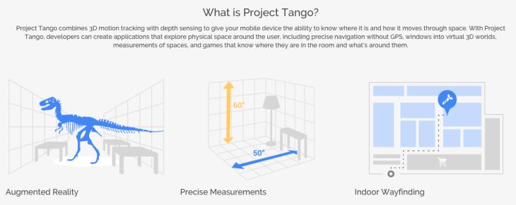 Project Tango specs