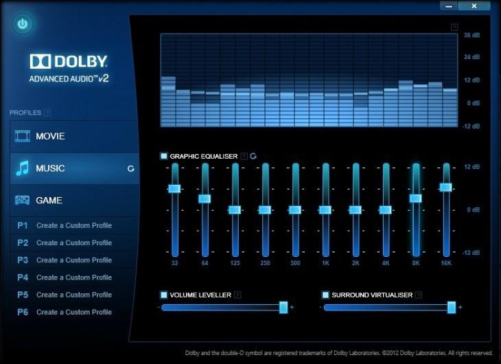 Lenovo Dolby