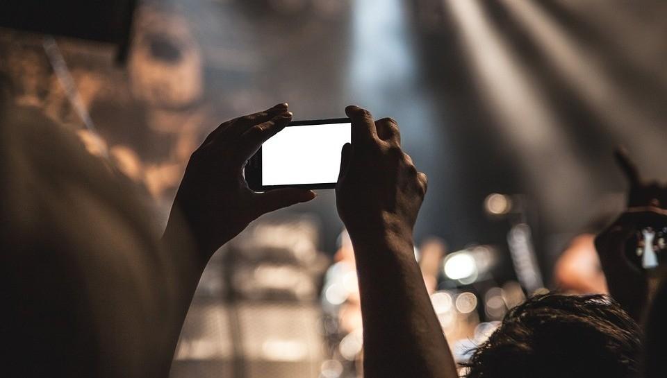 Smartphone concierto