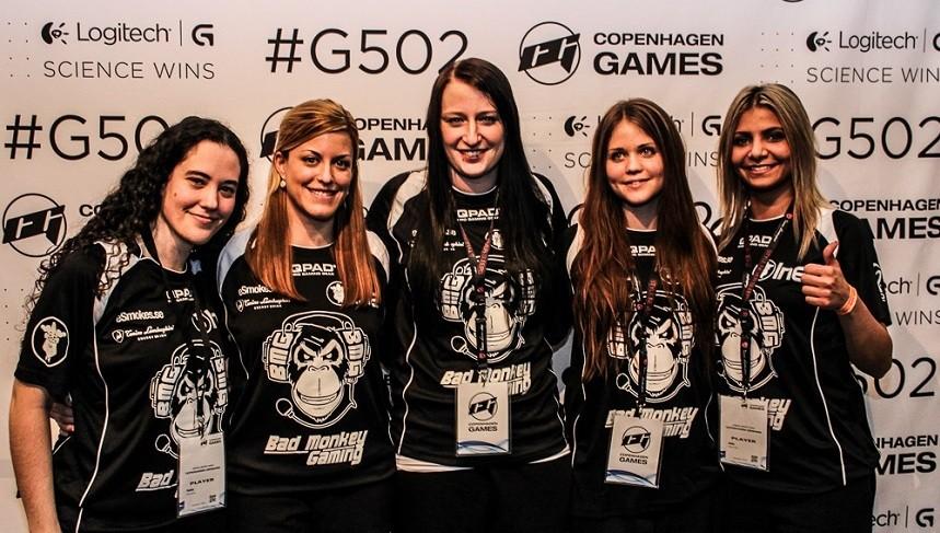 Equipo Bad Monkey Gaming (Suecia, 2015)